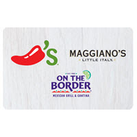$25 Chili's 3-Choice Gift Card