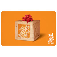 $500 The Home Depot® Gift Card
