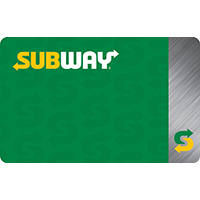 $10 Subway® Card